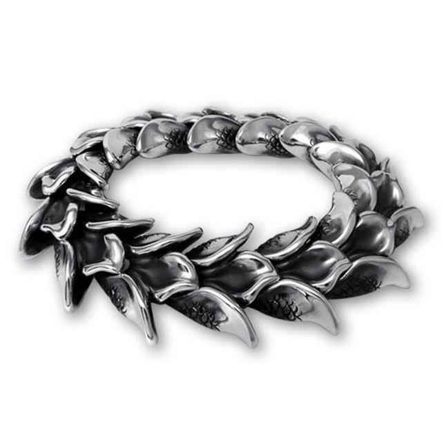 【海外訂購】【Bloody Mary】人魚鱗片純銀手鍊 20cm (BMB0135  016379B800) 0