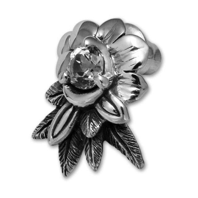 【海外訂購】【Bloody Mary】Abalone 鏡面魚托帕石耳環 (BME0470-Wt  0234100000) 0