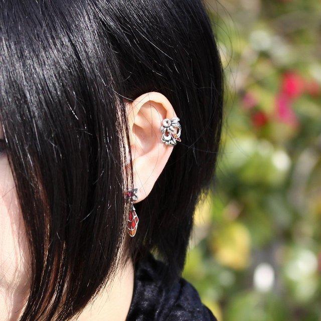 【海外訂購】【Bloody Mary】Phii妖精 -Buzz- 純銀耳扣(BME1342-2  0813490000) 1