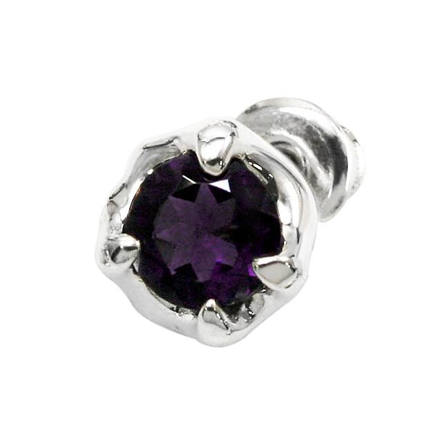 【海外訂購】【Bloody Mary】Nut 木之果實純銀耳環(紫水晶)(BME0368-A  0276060000) 0