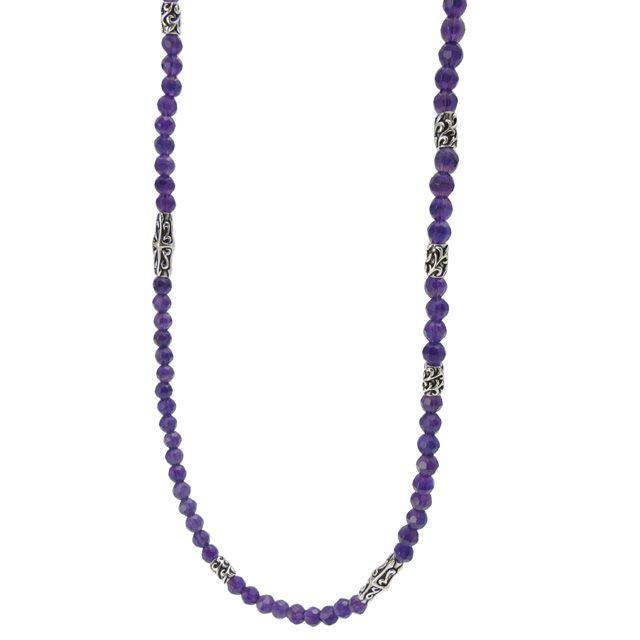 【海外訂購】【Bloody Mary】Ritual 歌德紫水晶純銀項鍊 60cm(BMN1109-A-60  058376B600) 0