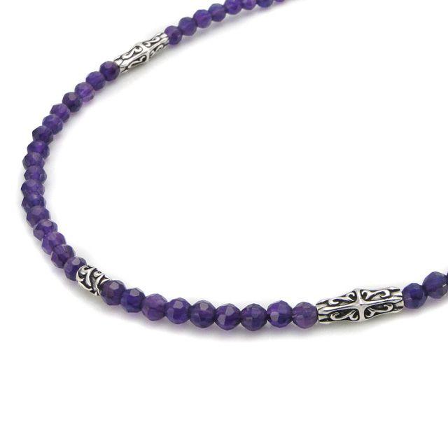 【海外訂購】【Bloody Mary】Ritual 歌德紫水晶純銀項鍊 60cm(BMN1109-A-60  058376B600) 1