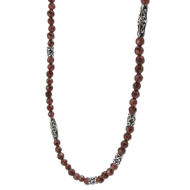 【海外訂購】【Bloody Mary】Ritual 歌德石榴石純銀項鍊 50cm(BMN1109-G-50  058379B500) 0