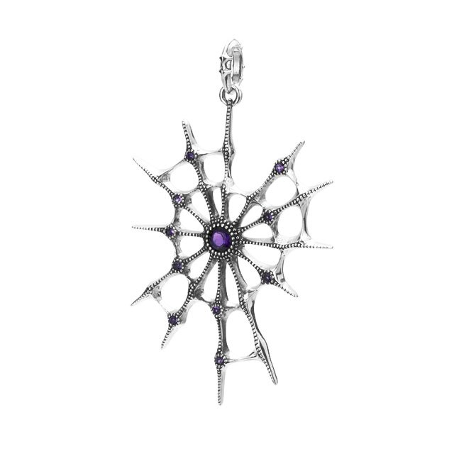 【現貨商品】【Bloody Mary】Aranea 蜘蛛 紫水晶純銀墜飾 (BMP1218-A  0643820000) 0