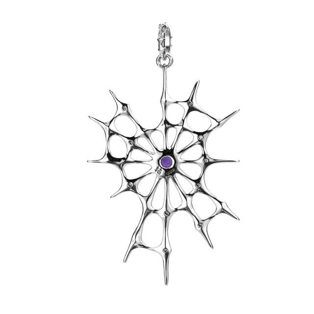 【現貨商品】【Bloody Mary】Aranea 蜘蛛 紫水晶純銀墜飾 (BMP1218-A  0643820000) 1