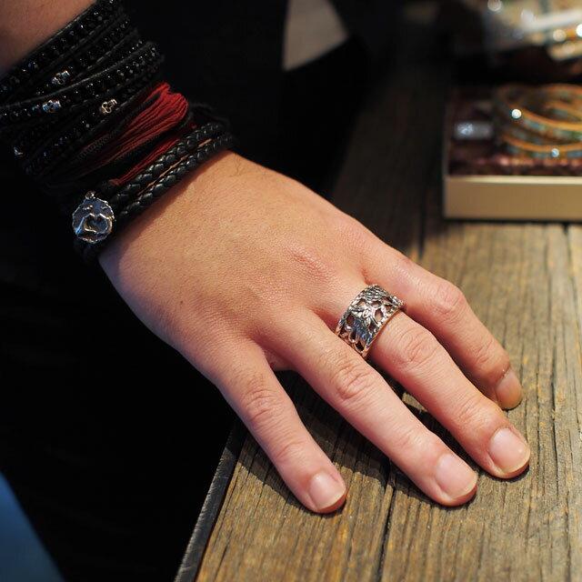 【現貨商品】【Bloody Mary】萬華鏡純銀戒指 L (BMR0458) 0