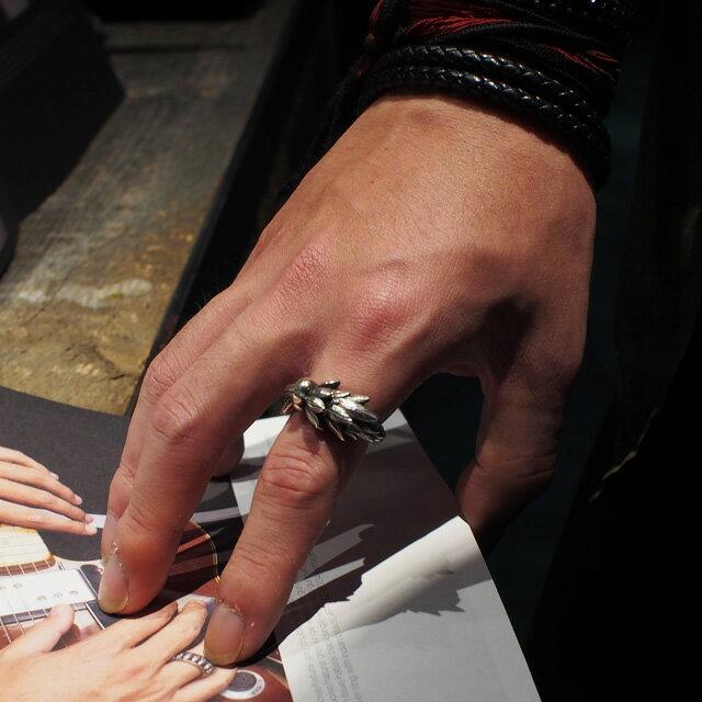 【海外訂購】【Bloody Mary】寄生木純銀戒指 (BMR0468) 5