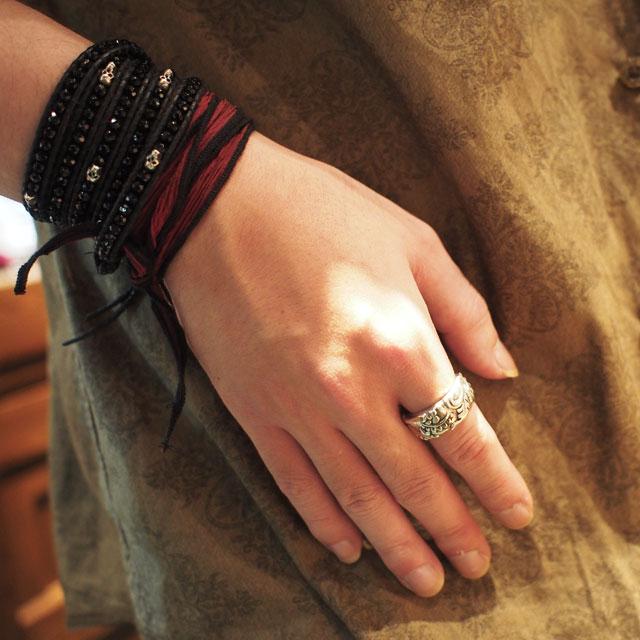 【海外訂購】【Bloody Mary】Atlas 天神阿特拉斯純銀戒指 (BMR0560) 1