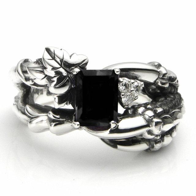 【海外訂購】【Bloody Mary】Bulb 縞瑪瑙鑲鑽純銀戒指 (BMR0613-Owd) 0