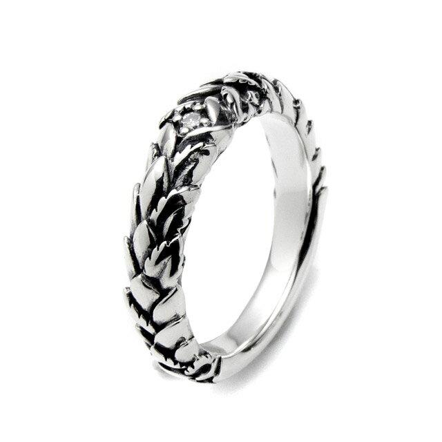 【海外訂購】【Bloody Mary】Embrace 白鑽雕花純銀戒指 (BMR1057-D) 0