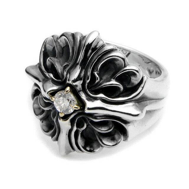 【海外訂購】【Bloody Mary】Majesty 神威18K金鑲鑽純銀戒指(BMR1086-sk-Wd) 0