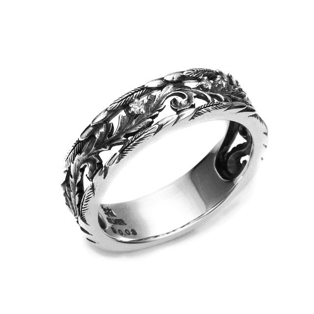 【海外訂購】【Bloody Mary】Favor 純銀戒指(鑲鑽款) (BMR1196-Wd) 0