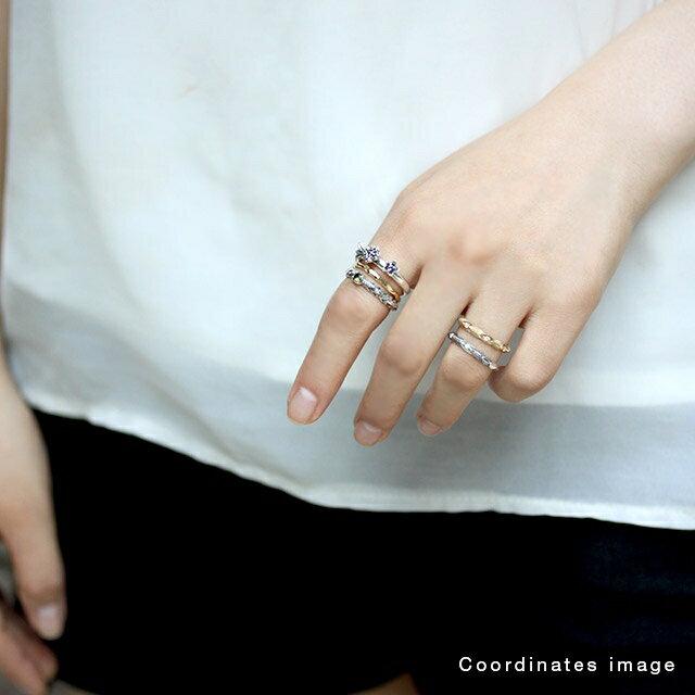【海外訂購】【Bloody Mary】微風銀羽 鑽石純銀戒指(BMR1290-D) 1