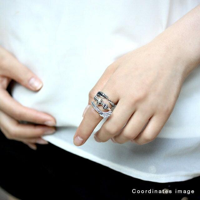【海外訂購】【Bloody Mary】躍動鳥爪 純銀戒指(BMR1291) 1