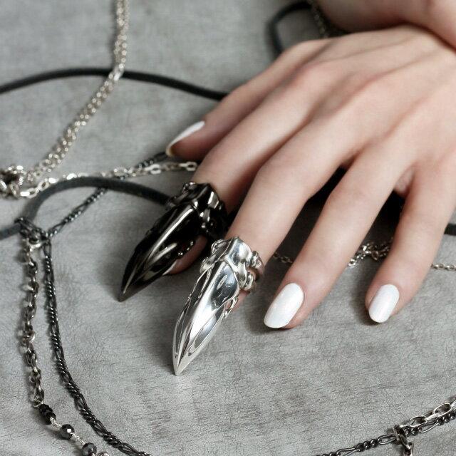 【海外訂購】【Bloody Mary】Stolas 魔神之爪純銀戒指 (BMR1266) 7