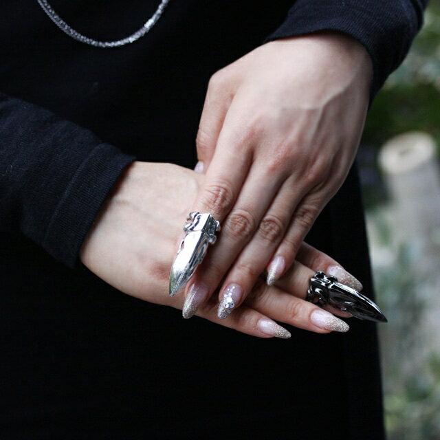【海外訂購】【Bloody Mary】Stolas 魔神之爪鑽石純銀戒指 (BMR1266-Wdlpv) 1
