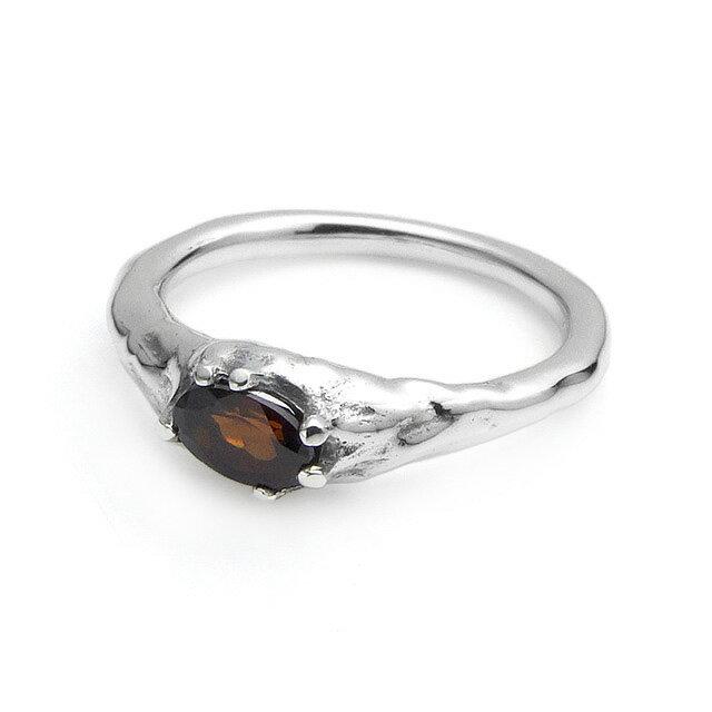 【海外訂購】【Bloody Mary】地之光 石榴石純銀戒指(BMR1269B-G) 0
