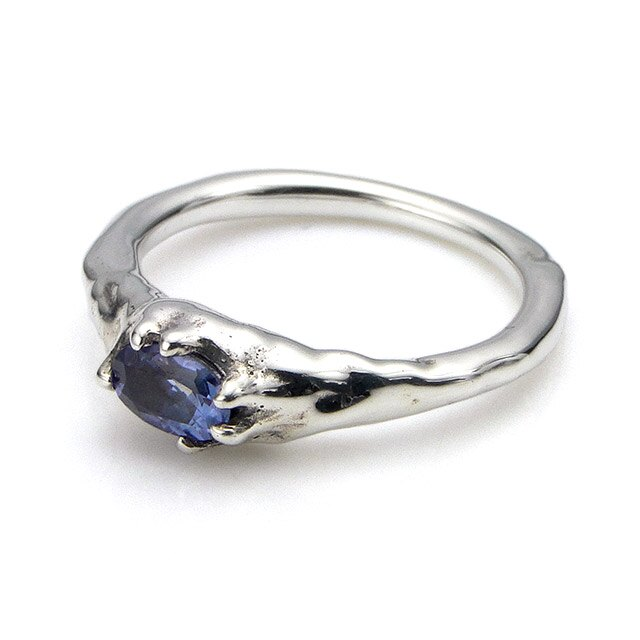 【海外訂購】【Bloody Mary】地之光 坦桑石純銀戒指(BMR1269B-Tn) 0