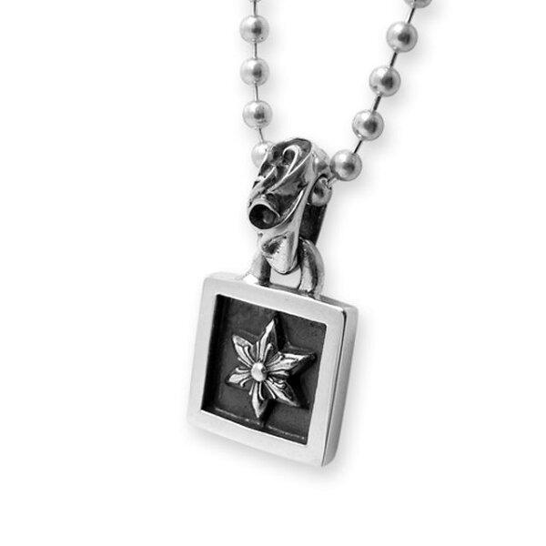 【海外訂購】【Chrome Hearts】六芒星方框純銀項鍊 (CHC-017 0001390000)