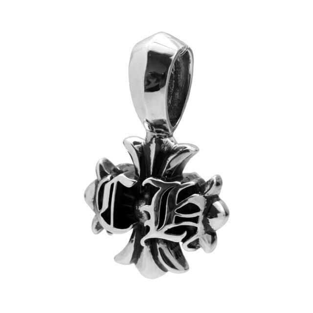 【海外訂購】【Chrome Hearts】CH雙面十字純銀墜飾(CHC-043L  0469710000) 0