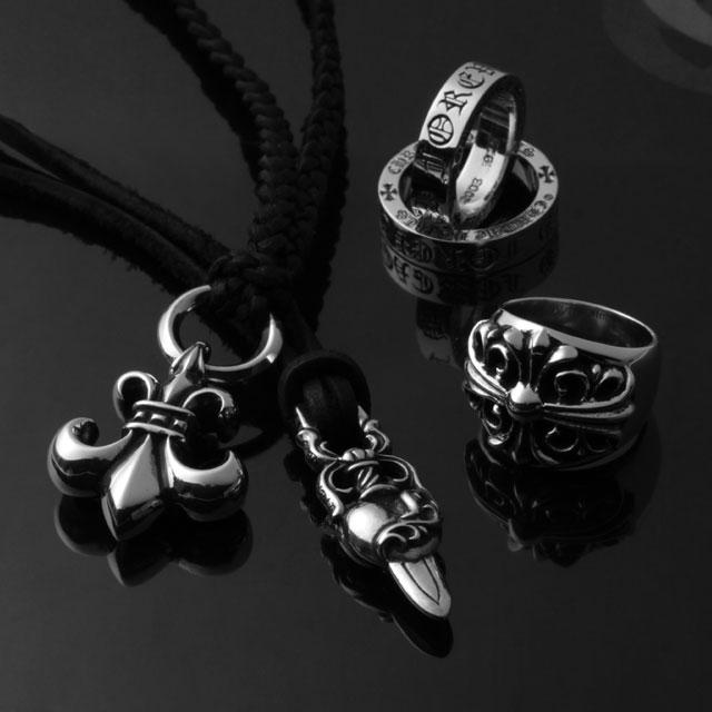 【海外訂購】【Chrome Hearts】Dagger heart 匕首心臟純銀項鍊 (CHP-022 0004300000) 5