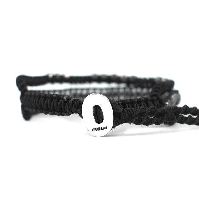 【現貨商品】【CHAN LUU】黑膽石三排單圈手環(CL-BSM-1142Hem-Black  0625970004) 1