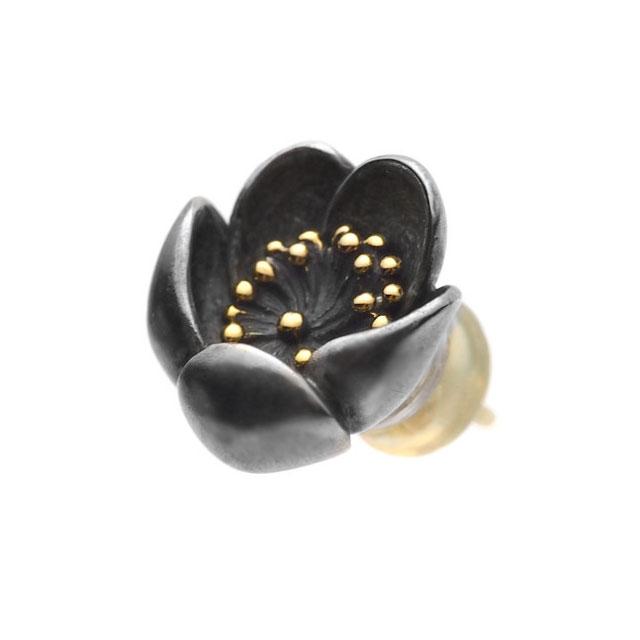 【海外訂購】【GLENN】梅花純銀耳環(GL-0154B  0295880000) 0