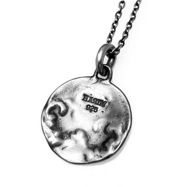 網路獨家【HARIM】Acanthus圖騰圓牌純銀項鍊 (HRP017SV) 1