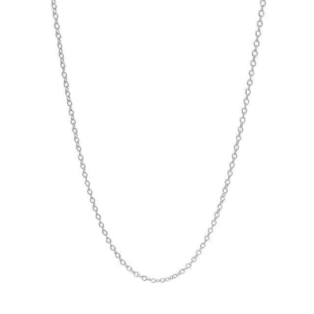 【現貨商品】【KONRON】品牌純銀細鍊 45cm(KR-Chain-H-45  077614C700) 0