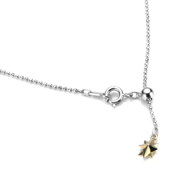 【海外訂購】【KONRON】新月寶石純銀項鍊(KRBCP0004-Lbt  0661870000) 1