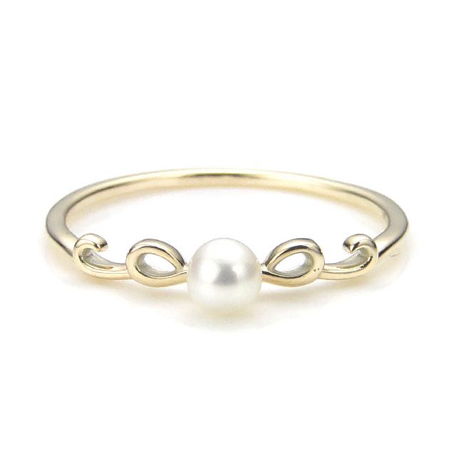 【現貨商品】【KONRON】瑪哈陵系列 女王珍珠K金指節戒指(KRBCR0002-k10-P) 0