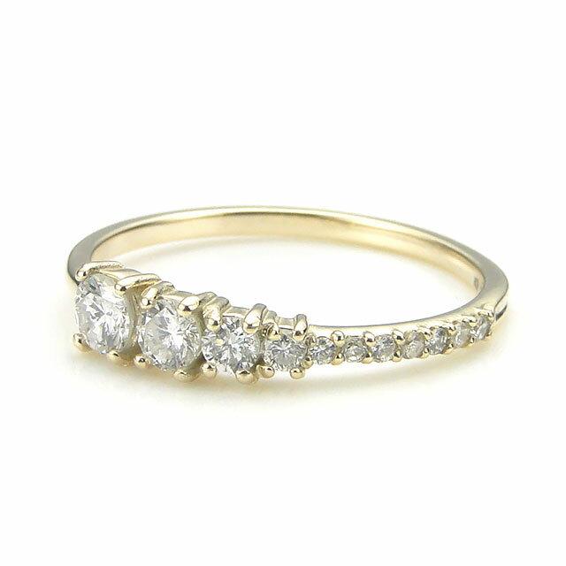【海外訂購】【KONRON】楊貴妃系列 水仙排鑽K金指節戒指(KRBCR0004-k10-D) 0