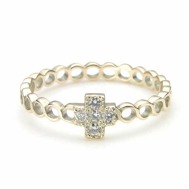 【海外訂購】【KONRON】杜蘭朵系列 馬賽克鑲鑽K金指節戒指(KRBCR0005-k10-D) 0
