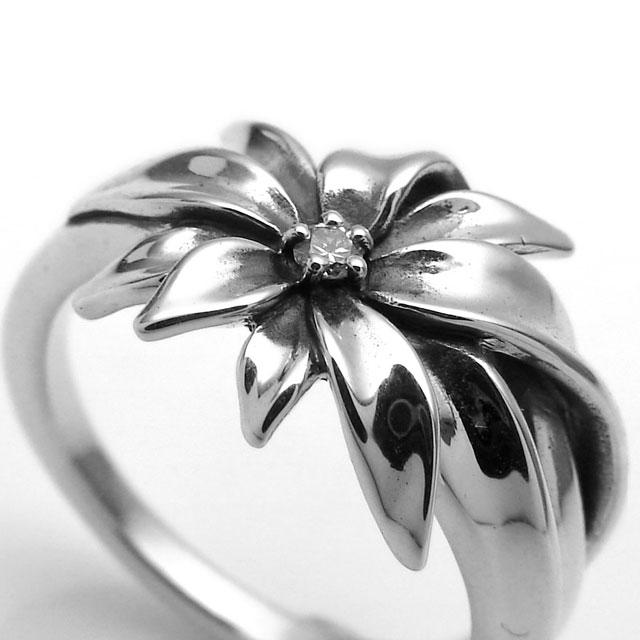 【海外訂購】【KONRON】小確幸花開純銀戒指 (KRR0779-D) 1