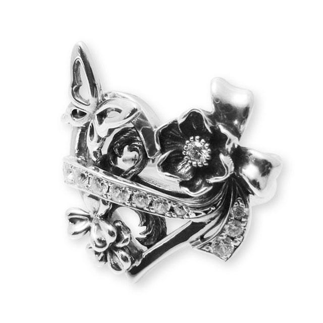 【現貨商品】【KONRON】華麗舞台歌劇寶石純銀戒指(KRR0635-Cz) 0