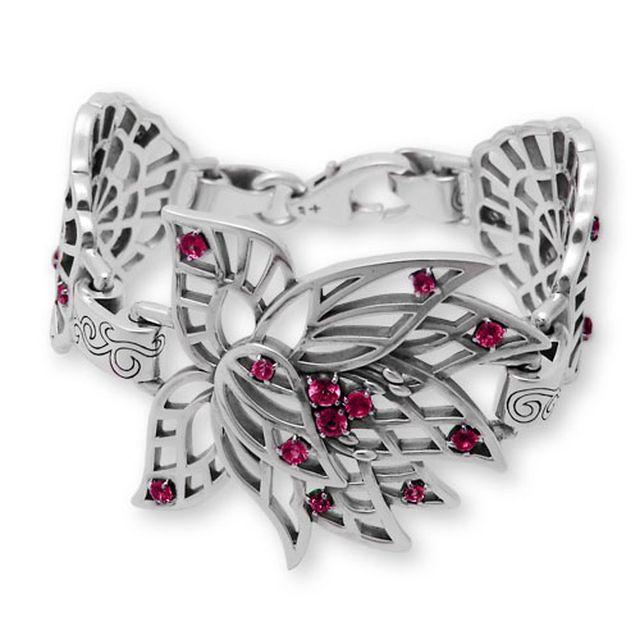 【海外訂購】【KONRON】永遠的蓮紅寶石純銀手鍊 S (KRB0656s-r  0329240200) 1
