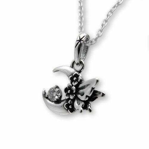 【海外訂購】【KONRON】浪漫銀河鑽石純銀項鍊(KRP0588-d  0282480000) 0