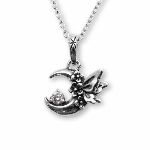 【海外訂購】【KONRON】浪漫銀河鑽石純銀項鍊(KRP0588-d  0282480000) 1
