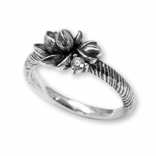 【海外訂購】【KONRON】甜美喜悅鑽石純銀戒指(KRR0546-D) 0