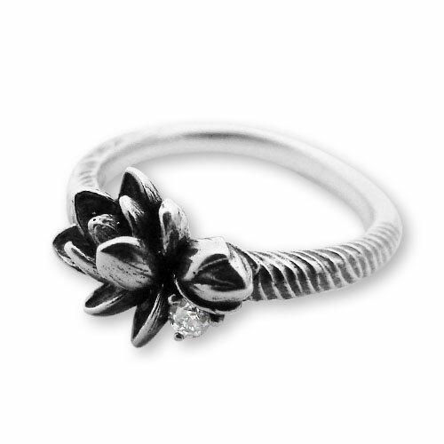 【海外訂購】【KONRON】甜美喜悅鑽石純銀戒指(KRR0546-D) 1