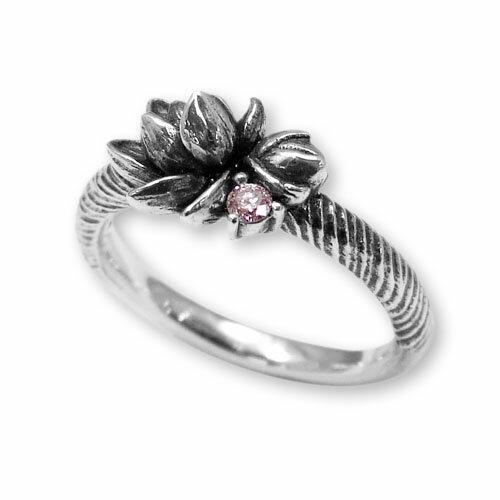【海外訂購】【KONRON】甜美喜悅粉鑽純銀戒指 (KRR0546-pd) 0