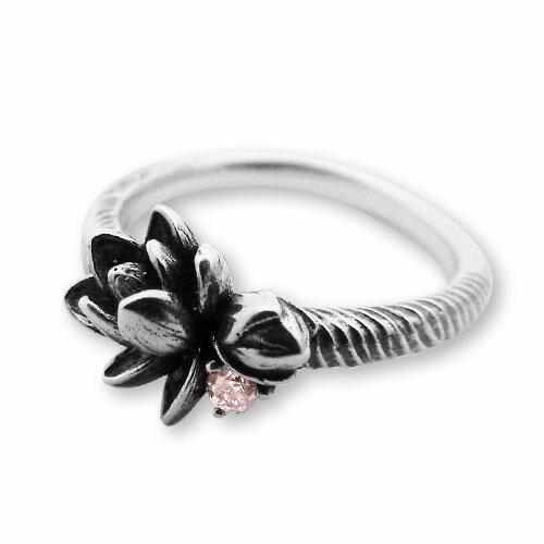 【海外訂購】【KONRON】甜美喜悅粉鑽純銀戒指 (KRR0546-pd) 1