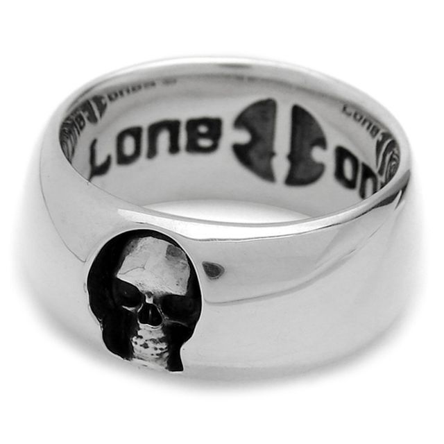 【海外訂購】【LONE ONES】深邃骷髏純銀戒指(LBNR002) 0