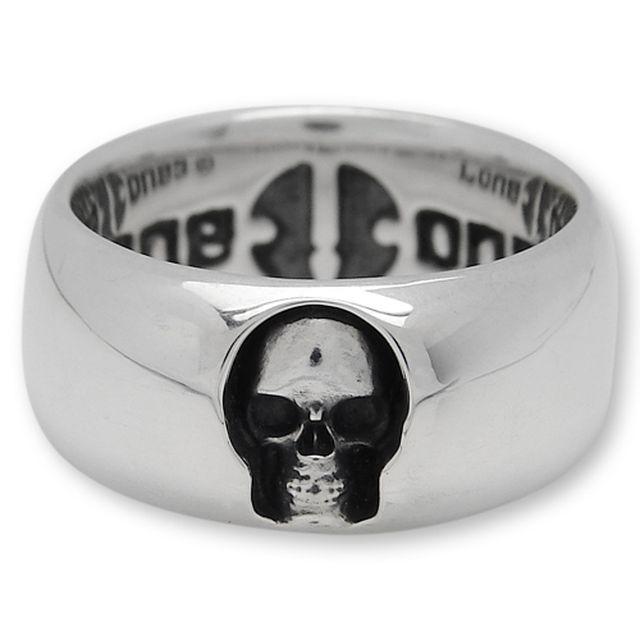 【海外訂購】【LONE ONES】深邃骷髏純銀戒指(LBNR002) 1