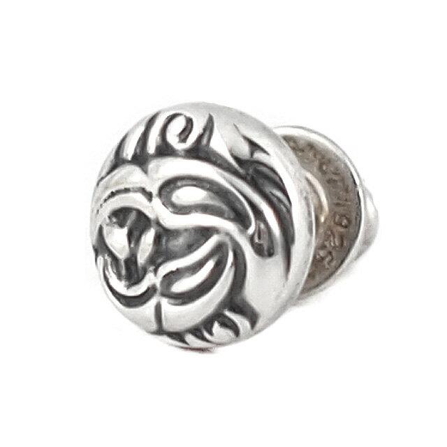 【海外訂購】【LONE ONES】Nest 圓形手工雕刻純銀耳環(LKE014  0099070000) 1