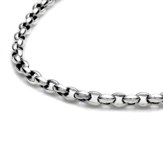 【海外訂購】【LONE ONES】極致光絨純銀銀鍊 50cm  (LKN013S 062121F300) 2