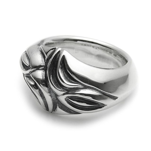 【海外訂購】【LONE ONES】極致光絨雕刻純銀戒指 L (LKR024l) 0