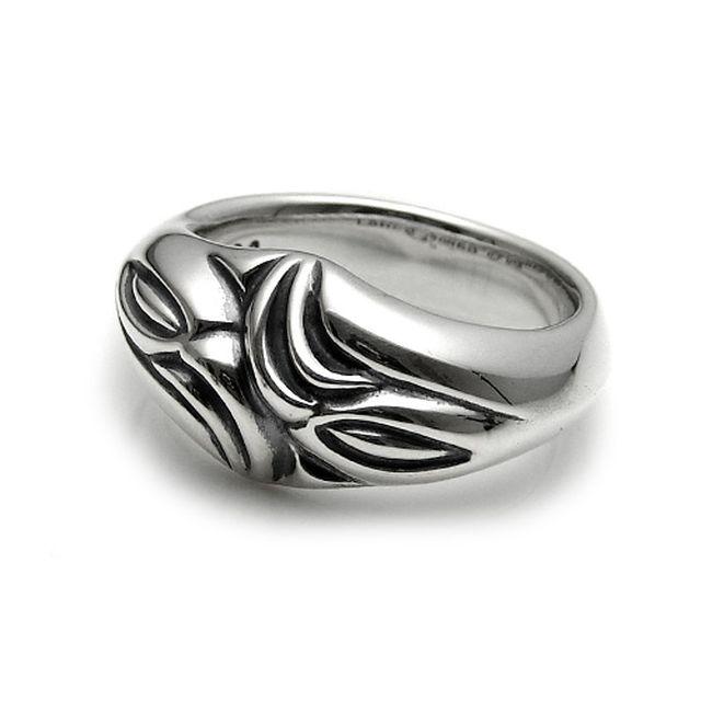 【海外訂購】【LONE ONES】極致光絨雕刻純銀戒指 S(LKR024s) 0