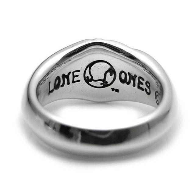 【海外訂購】【LONE ONES】極致光絨雕刻純銀戒指 S(LKR024s) 4
