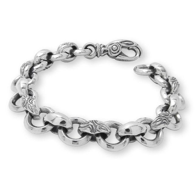 【海外訂購】【LONE ONES】極致光絨天鵝鎖鏈純銀手鍊(LKB038  0376020000) 0